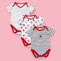 In the UK these are baby rompers or bodysuits, not baby onesies.