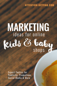 marketing ideas for kids and baby shop