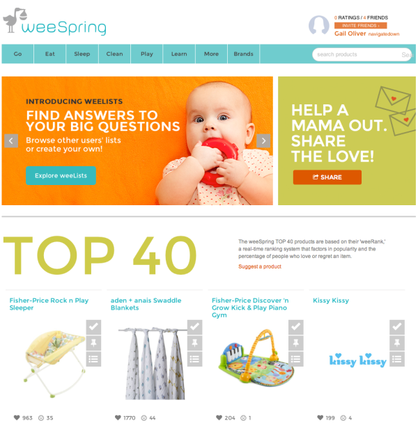 weespring website