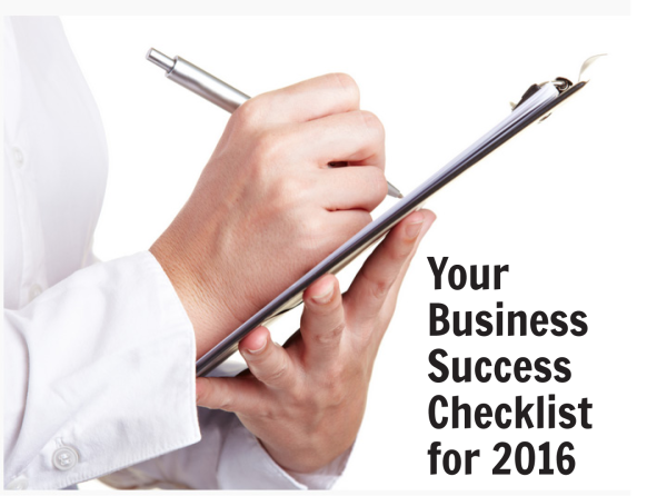 business success checklist 2016